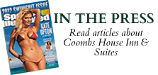 Read news about the Coombs House Inn and Suites in Apalachicola